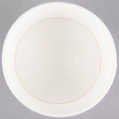 Vaso para helado - color blanco universal