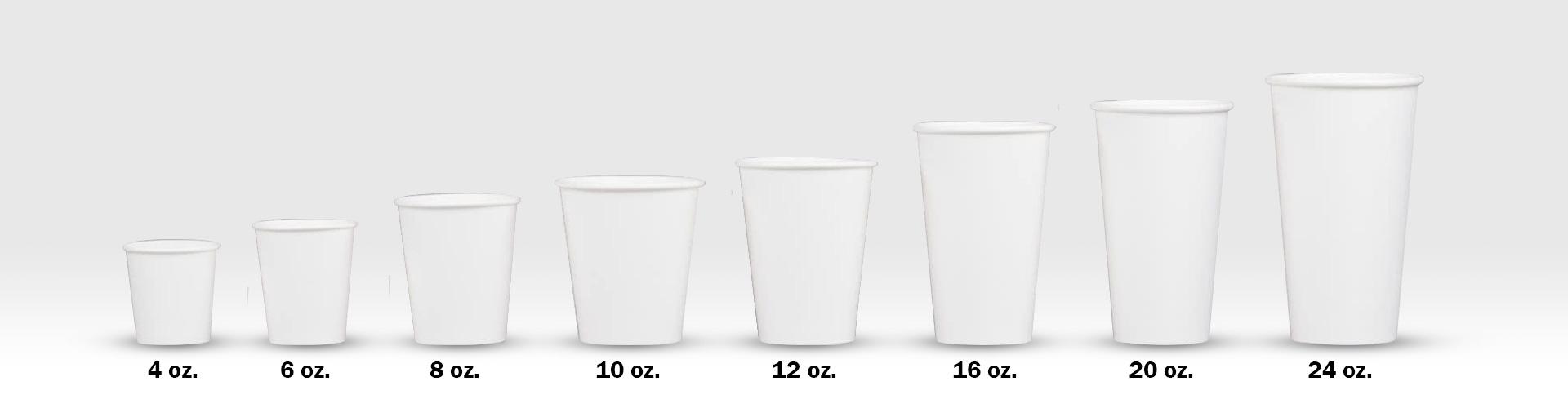 JM - Tamaños vasos para café