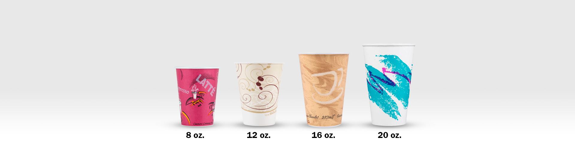 Sopa Helado Almuerzo para Llevar TOROTON 25 Piezas Kraft Vasos de Papel de la Sopa con Las Tapas 946ml Vasos org/ánicos desechable Biodegradable