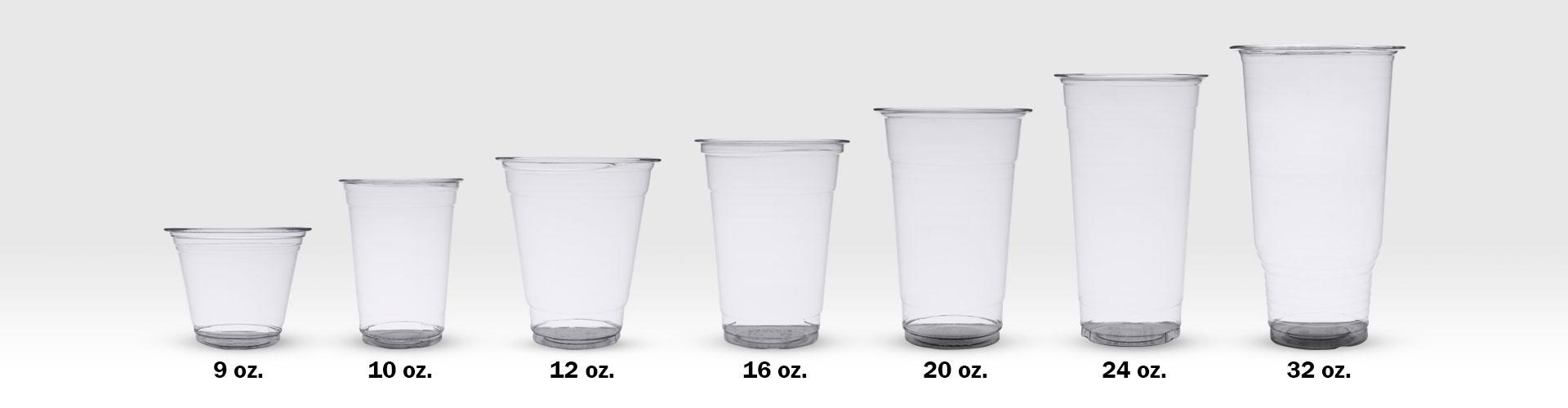 JM Distribuidores - Vasos de plático PETE