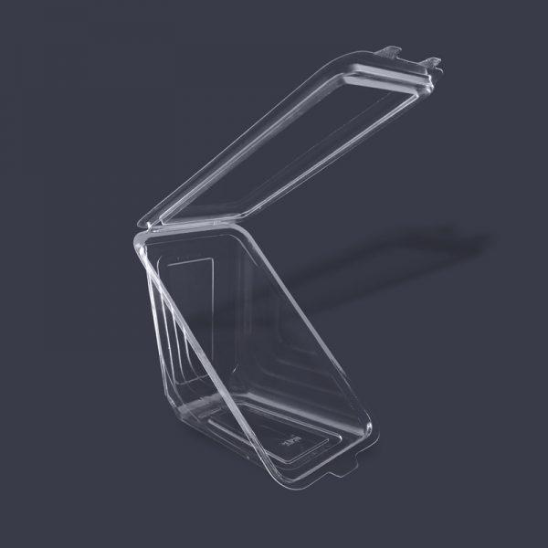 JM distribuidores -Empaque con tapa para sandwich