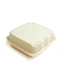 Contenedor Biodegradable con división