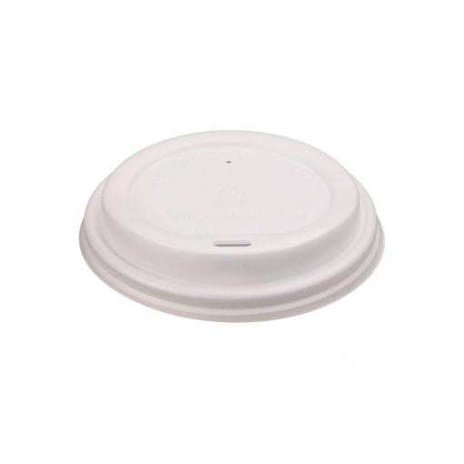 Tapa biodegradable para vaso para café - 8 onzas