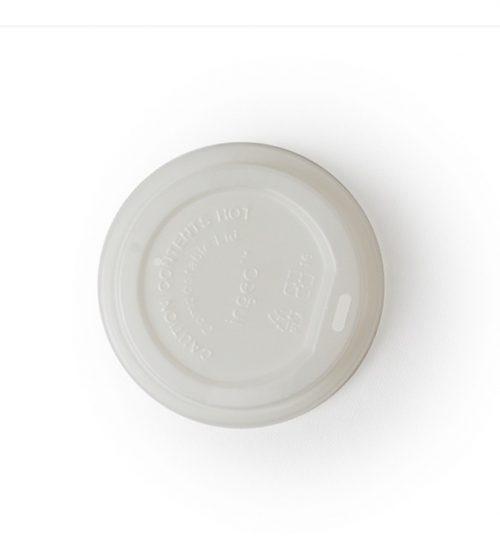 Tapa biodegradable para vaso para café - 8 a 16 onzas