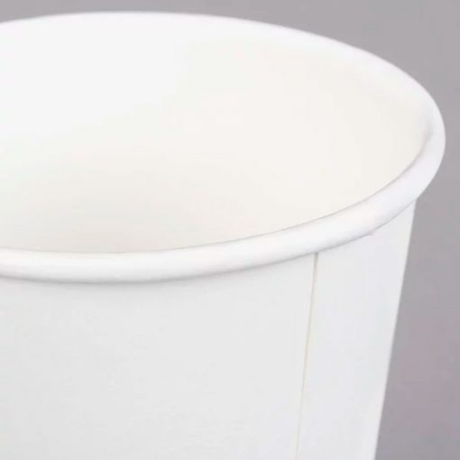 Vaso de papel biodegradable - Borde enrrollable