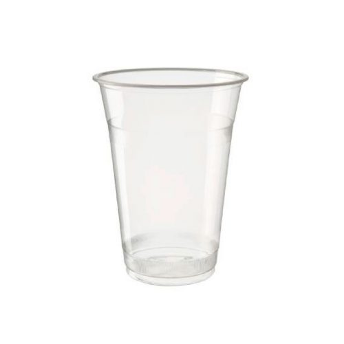 Vaso Transparente Biodegradable y Compostable 12oz PLA