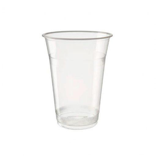 Vaso Transparente Biodegradable y Compostable 12oz PLA